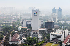 Pertamina head office Royalty Free Stock Image