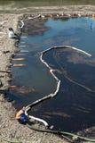 Perte d'huile de mécanisme des crédits pétroliers Photo libre de droits