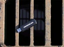 Perte de confidentialité Photo libre de droits