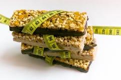 Perte de poids saine Photos stock