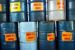 Perte de produit chimique Image stock