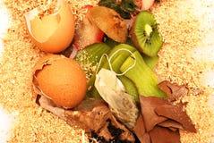 Perte organique pour le compost images libres de droits