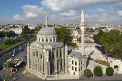 Pertevniyal Valide Sultan Mosque Stock Images