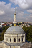 Pertevniyal Valide Sultan Mosque. At Aksaray Stock Photography