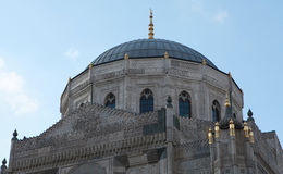 Pertevniyal Valide Sultan Mosque in Istanbul. Stock Photos