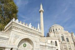 Pertevniyal Valide Sultan Mosque, Istanbul, Turkey Stock Images