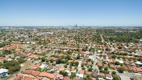 Perth antenn Royaltyfri Foto