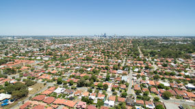 Perth-Antenne Lizenzfreies Stockfoto