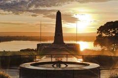 Perth ANZAC Yellow Rise Fotografía de archivo libre de regalías