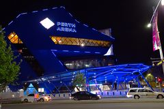 Perth Arena at Night Royalty Free Stock Photo