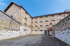 PERTH - AUSTRALIA - AGOSTO, 20 2015 - la prisión de Fremantle está abierta ahora al público Fotos de archivo