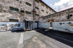 PERTH - AUSTRALIA - AGOSTO, 20 2015 - la prisión de Fremantle está abierta ahora al público Imagen de archivo libre de regalías