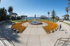 PERTH, AUSTRALIA, AUGUSTA, 18 2015 persone al memoriale di guerra mondiale Fotografia Stock Libera da Diritti