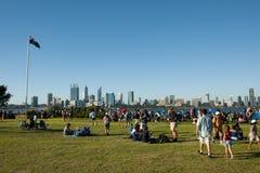 PERTH, AUSTRALIA - 26 de enero de 2018: Fotografía de archivo libre de regalías