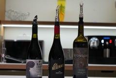 Perth Australia: una presentaci?n del vino imagen de archivo libre de regalías