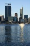 Perth Australia z naprzeciw ujścia Obraz Stock