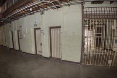 PERTH - AUSTRALIEN - AUGUSTI, 20 2015 - det Fremantle fängelset är nu öppet till allmänheten Royaltyfri Fotografi