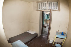 PERTH - AUSTRALIEN - AUGUSTI, 20 2015 - det Fremantle fängelset är nu öppet till allmänheten Arkivfoto