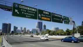 Perth autostrady znak zbiory