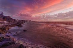 Free PERTH Beach Rocks Sunset Royalty Free Stock Photos - 67197898