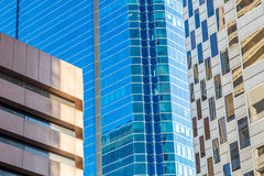 Perth Buildings Abstract Royalty Free Stock Image