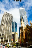 Perth Business District Stock Photography