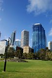 Perth city. Business center. View of Perth city (Western Australia Royalty Free Stock Image