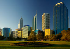 Perth City stock images