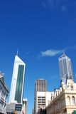 Perth city buildings Royalty Free Stock Photos
