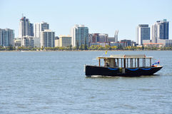 Perth City: Quaint Ferry Transport Royalty Free Stock Photography