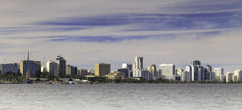 Perth City Skyline Royalty Free Stock Photography