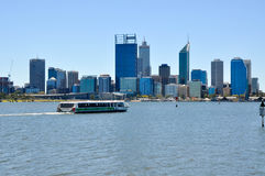 Perth City: Swan River Transport Royalty Free Stock Images