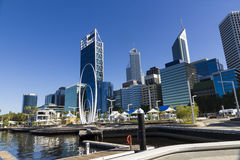 Perth city view Royalty Free Stock Photo