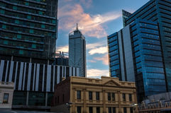 Perth City View Stock Images