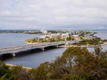Perth Cityscape Stock Photography