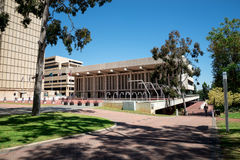 Perth Concert Hall bulding at St George Terrace Royalty Free Stock Image