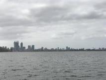 Perth dall'acqua immagine stock