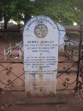 Perth grób Obraz Royalty Free