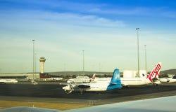 Perth internationell flygplats Australien Royaltyfri Foto