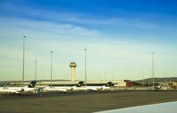 Perth internationell flygplats Australien Arkivbild