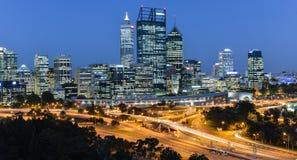 Perth linia horyzontu Obrazy Royalty Free