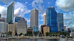 Perth linia horyzontu, westrern Australia fotografia stock