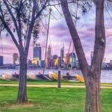 Perth miasto Australia zdjęcie royalty free