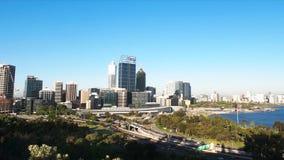 Perth miasto od królewiątko parka zbiory