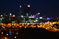 Perth by night Royalty Free Stock Images