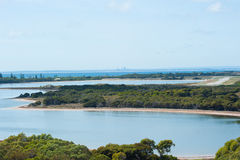 Perth from Rottnest Island Royalty Free Stock Photography