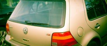 Perth, Scotland - 4 November 2019: Old and rusty VW Golf TDI