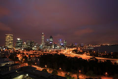 Perth  skyline Royalty Free Stock Photo