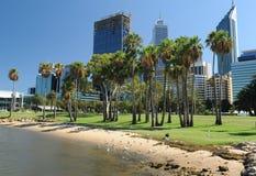 Perth-Skyline Lizenzfreie Stockfotos