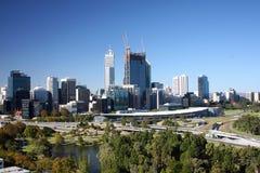 Perth-Skyline lizenzfreies stockbild